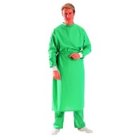 Reusable Operating Gown, Jade Green - Medium