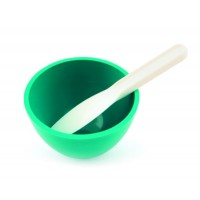mixing bowl and spatula - sterile